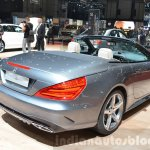 2016 Mercedes SL rear three quarters at the 2016 Geneva Motor Show