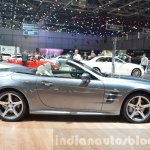 2016 Mercedes SL side at the 2016 Geneva Motor Show