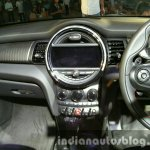 2016 Mini Convertible center console India launched
