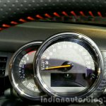2016 Mini Convertible cluster India launched