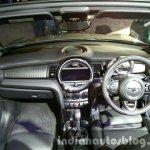 2016 Mini Convertible dashboard India launched