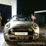 2016 Mini Convertible front India launched