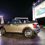 2016 Mini Convertible rear quarter India launch