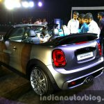 2016 Mini Convertible rear quarters India launched
