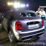 2016 Mini Convertible roof up India launched