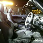 2016 Mini Convertible seats India launched