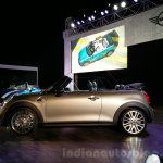 2016 Mini Convertible side India launch