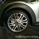 2016 Mini Convertible wheel India launched