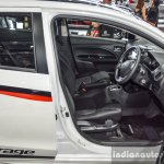 2016 Mitsubishi Attrage front seats at 2016 Bangkok International Motor Show