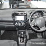 2016 Mitsubishi Attrage interior dashboard at 2016 Bangkok International Motor Show