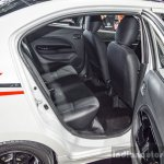 2016 Mitsubishi Attrage rear seats at 2016 Bangkok International Motor Show