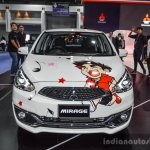 2016 Mitsubishi Mirage front at 2016 Bangkok International Motor Show