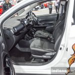 2016 Mitsubishi Mirage front seats at 2016 Bangkok International Motor Show
