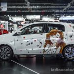 2016 Mitsubishi Mirage left side at 2016 Bangkok International Motor Show