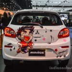 2016 Mitsubishi Mirage rear at 2016 Bangkok International Motor Show