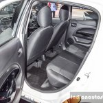 2016 Mitsubishi Mirage rear seats at 2016 Bangkok International Motor Show