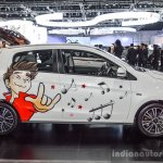 2016 Mitsubishi Mirage side profile at 2016 Bangkok International Motor Show