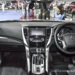 2016 Mitsubishi Pajero Sport dashboard at 2016 BIMC