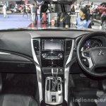 2016 Mitsubishi Pajero Sport dashboard at 2016 BIMC