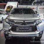 2016 Mitsubishi Pajero Sport front profile at 2016 BIMC