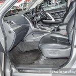 2016 Mitsubishi Pajero Sport front seats at 2016 BIMC
