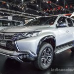 2016 Mitsubishi Pajero Sport front three quarter at 2016 BIMC