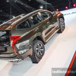2016 Mitsubishi Pajero Sport ramp rear right three quarter at 2016 BIMC