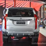 2016 Mitsubishi Pajero Sport rear at 2016 BIMC