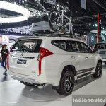 2016 Mitsubishi Pajero Sport rear right three quarter at 2016 BIMC