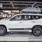 2016 Mitsubishi Pajero Sport side profile at 2016 BIMC