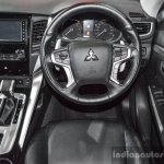 2016 Mitsubishi Pajero Sport steering wheel at 2016 BIMC