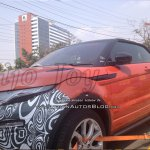 2016 Range Rover Evoque Convertible spy shot India