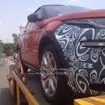 2016 Range Rover Evoque Convertible spyshot
