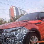 2016 Range Rover Evoque Convertible test mule spy shot India