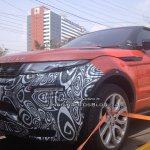 2016 Range Rover Evoque Convertible test mule