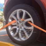2016 Range Rover Evoque Convertible wheel spy shot India
