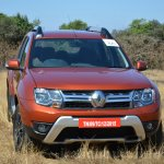 2016 Renault Duster facelift AMT front Review
