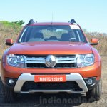 2016 Renault Duster facelift AMT front fascia Review