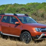 2016 Renault Duster facelift AMT front quarter Review