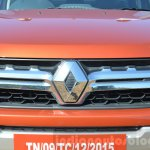 2016 Renault Duster facelift AMT grille Review