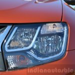 2016 Renault Duster facelift AMT headlight Review