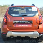 2016 Renault Duster facelift AMT rear Review