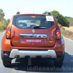 2016 Renault Duster facelift AMT rear bumper Review