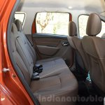 2016 Renault Duster facelift AMT rear space Review