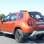 2016 Renault Duster facelift AMT rear three quarter view Review