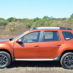2016 Renault Duster facelift AMT side Review