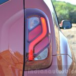 2016 Renault Duster facelift AMT taillight Review