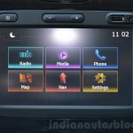 2016 Renault Duster facelift AMT touchscreen system Review