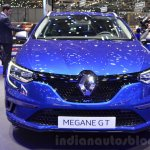 2016 Renault Megane Estate GT front at the 2016 Geneva Motor Show