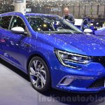2016 Renault Megane Estate GT front three quarter at the 2016 Geneva Motor Show